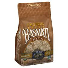 California Brown Basmati Rice Gluten Free 12 Pack 32 oz (907 g) From Lundberg