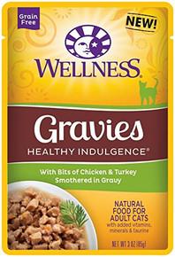 Gravies Chicken & Turkey 24 of 3 OZ By WELLNESS