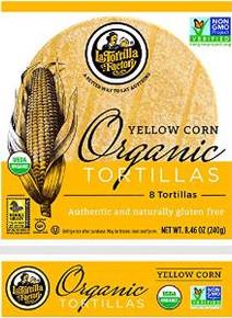 Yellow Corn 8 Count 10 of 8.46 OZ By LA TORTILLA FACTORY