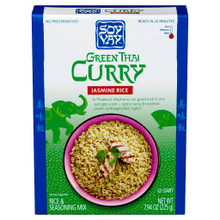 Green Thai Curry Jasmin Rice Mix 6 of 7.94 OZ By SOY VAY