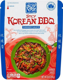 Spicy Korean BBQ 8 of 8 OZ By SOY VAY