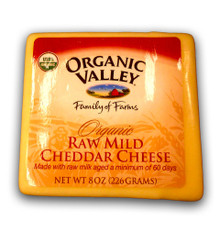Cheddar Mild 12 of 8 OZ From ORGANIC VALLEY