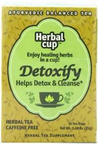 Detoxify 6 of 16 BAG HERBAL CUP TEA
