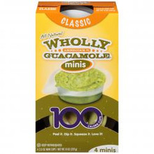 Classic Minis 8 of 4 of 2 OZ By WHOLLY GUACAMOLE