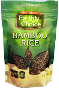 Bamboo Rice GF 6 of 12 OZ By NATURE`S EARTHLY CHOICE