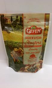 Cashew/Pecan Clusters Lt Swtn 12 of 4.25 OZ By GEFEN