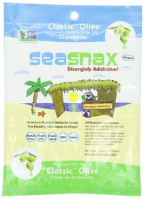 Classic Olive 5 Sheets 16 of .54 OZ SEASNAX