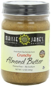 Almond Crunchy 12 of 12 OZ By MAISIE JANE`S