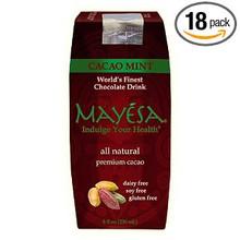 Chocolate Cacao, Mint, 12 of 8 OZ, Mayesa