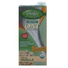 Naturally Oat, Vanilla, 12 of 32 OZ, Pacific Natural Foods