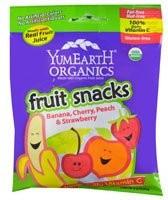 Banana/Cherry/Peach/Strawberry 12 of 2 OZ From YUMEARTH ORGANICS