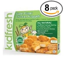 Super Duper Chicken Nuggets 8 of 6.7 OZ By KIDFRESH