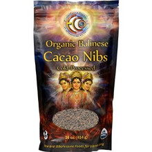 Balinese Cacao Nibs 16 OZ By EARTH CIRCLE ORGANICS