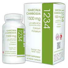 1234 Garcinia Cambogia 60 VCAP CREATIVE BIOSCIENCE
