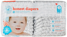 Diapers Skulls Size 2 S/M 40 CT By THE HONEST CO