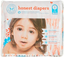 Diapers Giraffes Size 5XL 25 CT By THE HONEST CO