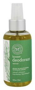 Deoderant Vetiver 4 OZ By THE HONEST CO