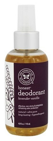 Deoderant Lavender Vanilla 4 OZ By THE HONEST CO