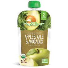 Apples Kale & Avocados 16 of 4 OZ By HAPPY BABY