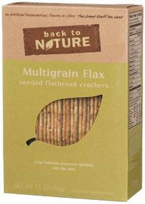 Multigrain Flax Seed 6 of 5.5 OZ BACK TO NATURE