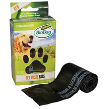 Dog Waste Bags on a Roll 12 of 45 CT By BIOBAG
