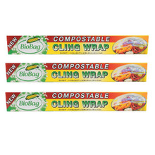 Cling Wrap 12 of 62.3FT By BIOBAG