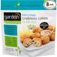 Crabless Cakes 8 of 8.8 OZ By GARDEIN