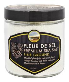 Fleur De Sel Sea Salt Fine 6 of 1 LB By OJIO