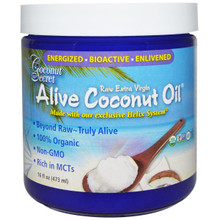 Coconut Oil,Alive,Extra Virgin 6 of 16 OZ By COCONUT SECRET