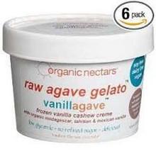Vanilla Bean 8 of 1 PINT ORGANIC NECTARS