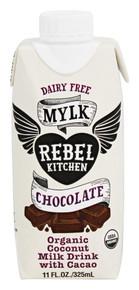 Chocolate Coconut Mylk DF 8 of 11 OZ By REBEL KITCHEN