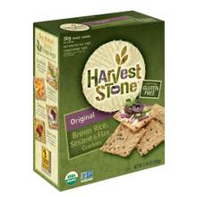 Original Sesame & Flax 6 of 3.54 OZ By HARVEST STONE