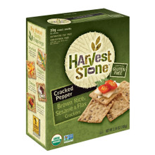 Cracked Pepper Sesame & Flax 6 of 3.54 OZ By HARVEST STONE