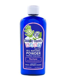 Baby Powder All Natural 6 of 5 OZ By SQUEAKY CHEEKS