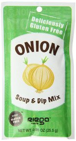Onion Soup & Dip Mix 8 of .9 OZ From RIEGA FOODS