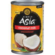 Coconut Milk Unsweetened 6 of 13.66 OZ By SIMPLY ASIA
