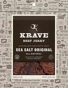 Beef Sea Salt Original 8 of 3.25 OZ By KRAVE