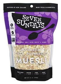Bluberry Chia Buckwheat 6 of 12 OZ By SEVEN SUNDAYS