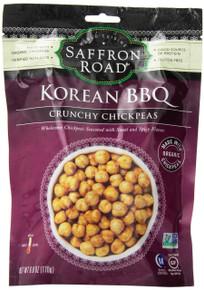 Korean BBQ Chickpeas 8 of 6 OZ From SAFFRON ROAD