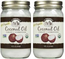 Coconut Unrefined Virgin 6 of 14 OZ By LA TOURANGELLE
