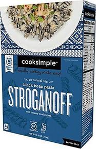Black Bean & Pasta Stroganoff 6 of 5.6 OZ By COOKSIMPLE