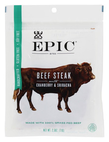 Beef Cranberry Sriracha 8 of 2.5 OZ By EPIC