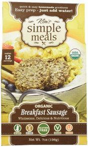 Breakfast Sausage 6 of 7 OZ By KIM`S SIMPLE MEALS