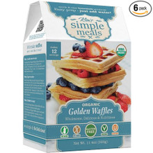 Golden Waffles 6 of 11.4 OZ By KIM`S SIMPLE MEALS