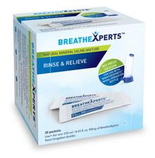 Saline Mixture,Mineral 30 PKT By BREATHEXPERTS