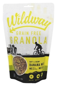 Banana Nut 6 of 10 OZ By WILDWAY