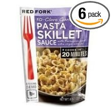 10 Clove Garlic Pasta 6 of 8 OZ By RED FORK