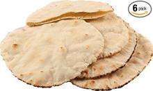 Pita Bread Lebanese Style GF 6 of 13.8 OZ By AGAINST THE GRAIN GOURMET