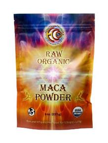 Maca Powder Raw 8 OZ By EARTH CIRCLE ORGANICS