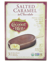 Bars Salted Caramel In Choc. 12 of 3 of 3 OZ By LUNA & LARRYS COCONUT BLISS
